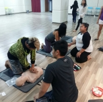 CPF / AED course for 1Fiesta instructors