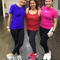 with Mommy G and Laisa