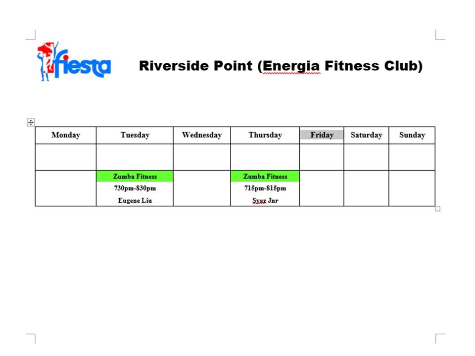 Riverside point