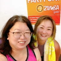 Our usual tue 8 pm zumba toning with G !