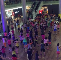 Mega Zumba Party at Ion Orchard