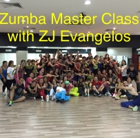Zumba Master Class with ZJ Evangelos