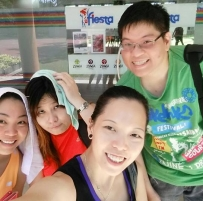 Our 1st Zumba Fitness experience at Tampines