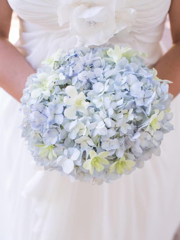 Blue Hydrangea Wedding Flowers. top ten wedding flowers ideas sang ...