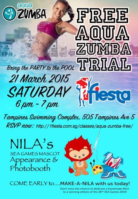 Free Aqua Zumba 2015 March
