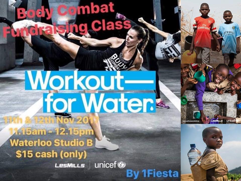 Body Combat Fundraising Class
